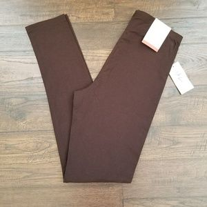 Style & Co Brown Leggings Size XSmall